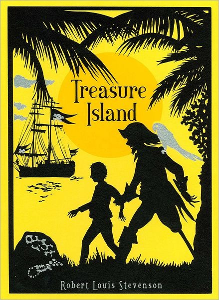 "Treasure Island - Robert Louis Stevenson. Long John was scary. Lots of unexpected pre-voyage intrigue. ""Seaward ho! Hang the treasure! It's the glory of the sea that has turned my head."""