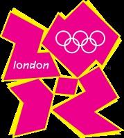 Logo der Olympischen Spiele 2012: Inspire a Generation  (Inspiriere eine Generation)