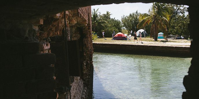 Camping - Dry Tortugas National Park (U.S. National Park Service)