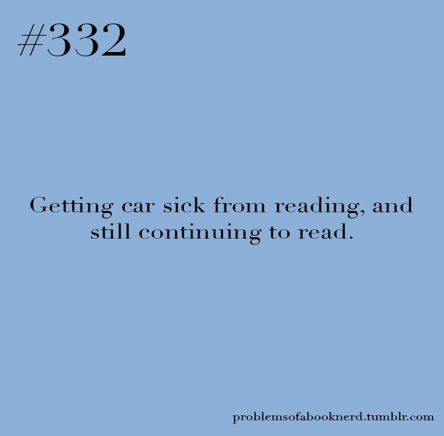 Problems of a Book Nerd