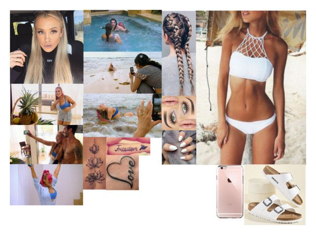 """Emily Michaels Sexy Photoshoot with the Divas in Mexico"" by safia4life ❤ liked on Polyvore featuring Birkenstock and Episode"