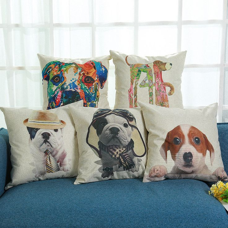 Find More Cushion Cover Information about Cushion Cover Cute Bulldog Linen&Polyester Decorative Throw Pillow Cases Cover Home Sofa Pillowcase for Kids Room Decoration,High Quality decorative throw pillows case,China cushion cover Suppliers, Cheap throw pillow cases from WK HomeTextiles Store on Aliexpress.com
