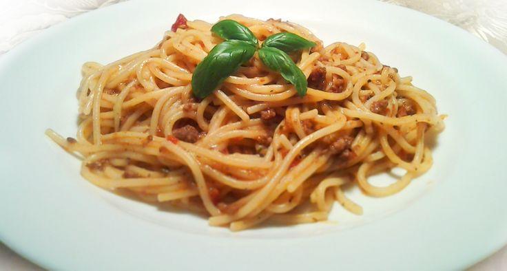 Spaghetti Bolognese #italianfood, #pasta