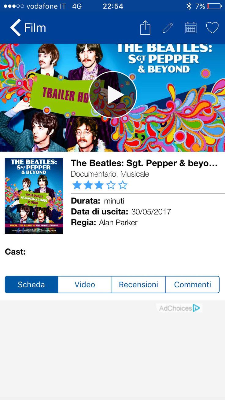 6***+++ docufilm con varie interviste dei protagonisti del biennio 66-68 imperniate sull'album Sergent Pepper. Peccato nessuna registrazione brani del disco ne tour