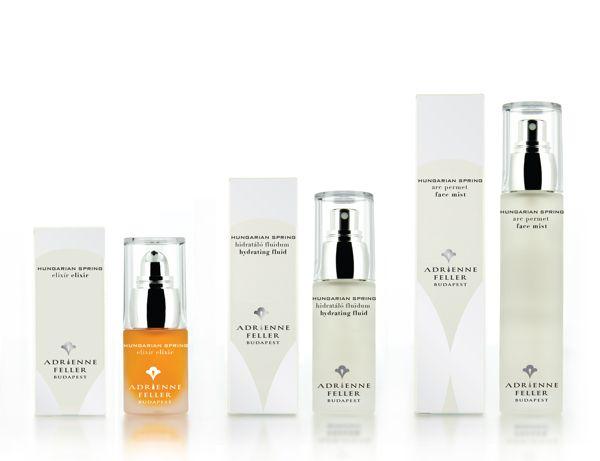 HUNGARIAN SPRING - Organic Cosmetic Packaging by Barbara Baska, via Behance