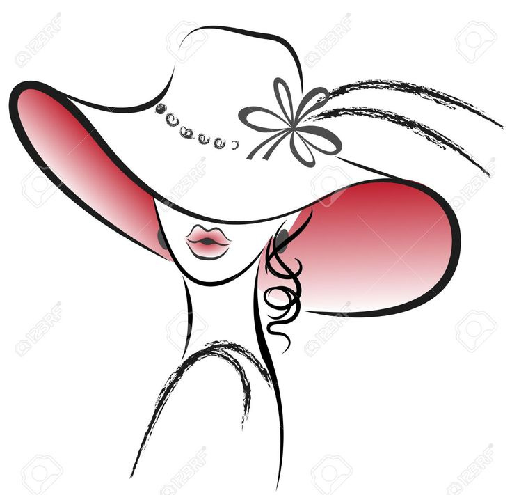 19795648-Ritratto-della-bella-donna-nel-cappello-rosso-con-un-fiore-Archivio-Fotografico.jpg (1300×1257)