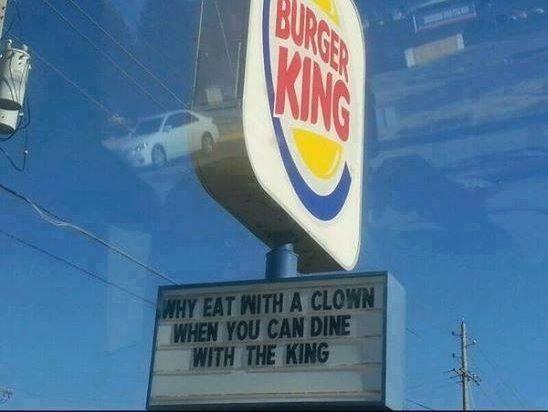 Burger King vs. Mc Donald's