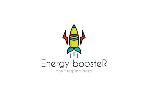 Energy boosteR Logo by VecRas Creations on Creative Market