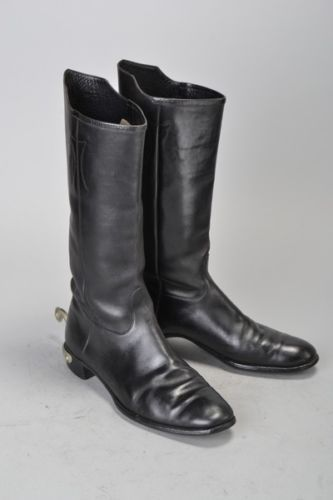 British-Army-Officers-Foster-Of-Glasgow-WW1-Era-Parade-Mess-Boots-amp-Spurs-CHI