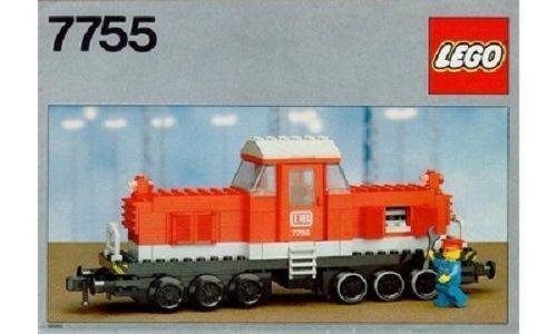 RARE New Lego Set 7755(7755-1) Diesel Heavy Shunting Locomotive-Sealed