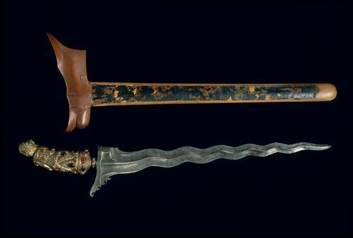 Kris, Javanese traditional weapon | exotic beutiful Indonesian Culture | Indonesia - #SouthEast #Asia