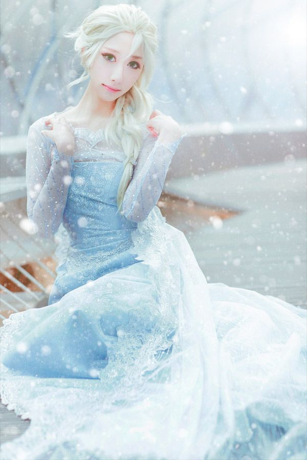 Elsa(FROZEN) | SAIDA - WorldCosplay:
