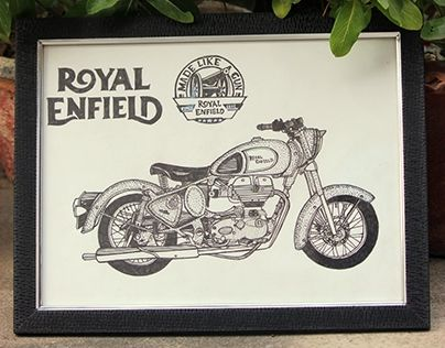 """Check out new work on my @Behance portfolio: """"Royal Enfield"""" http://be.net/gallery/45878223/Royal-Enfield"""