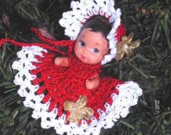(1) CROCHET FASHION DOLL PATTERN FOR 11 1/2, 9 1/2, 7 1/2, & 4 1/2 Fashion Dolls such as Barbie & Skipper, Stacie & Kelly. This is a pattern NOT the finished product.  #288 CHRISTMAS EMBROIDERY-Original Design from ICS Original Designs- Make with #10 Crochet Thread.  If you would like to have the patterns emailed to you rather than mailed shipping will be FREE but please let me know with your payment that this is what you want.  Buyers outside USA-Patterns are ...