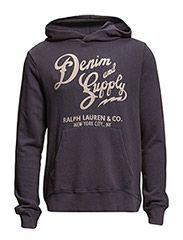 Denim & Supply Ralph Lauren LSL PO HOOD BOLD CHAINSTITCH