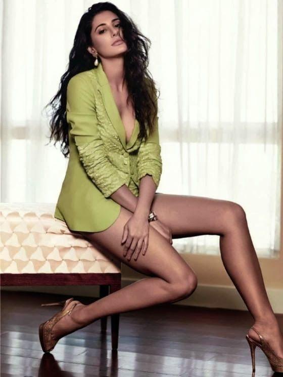 Hot Nargis Fakhri Stills From Top Magazine Photoshoot