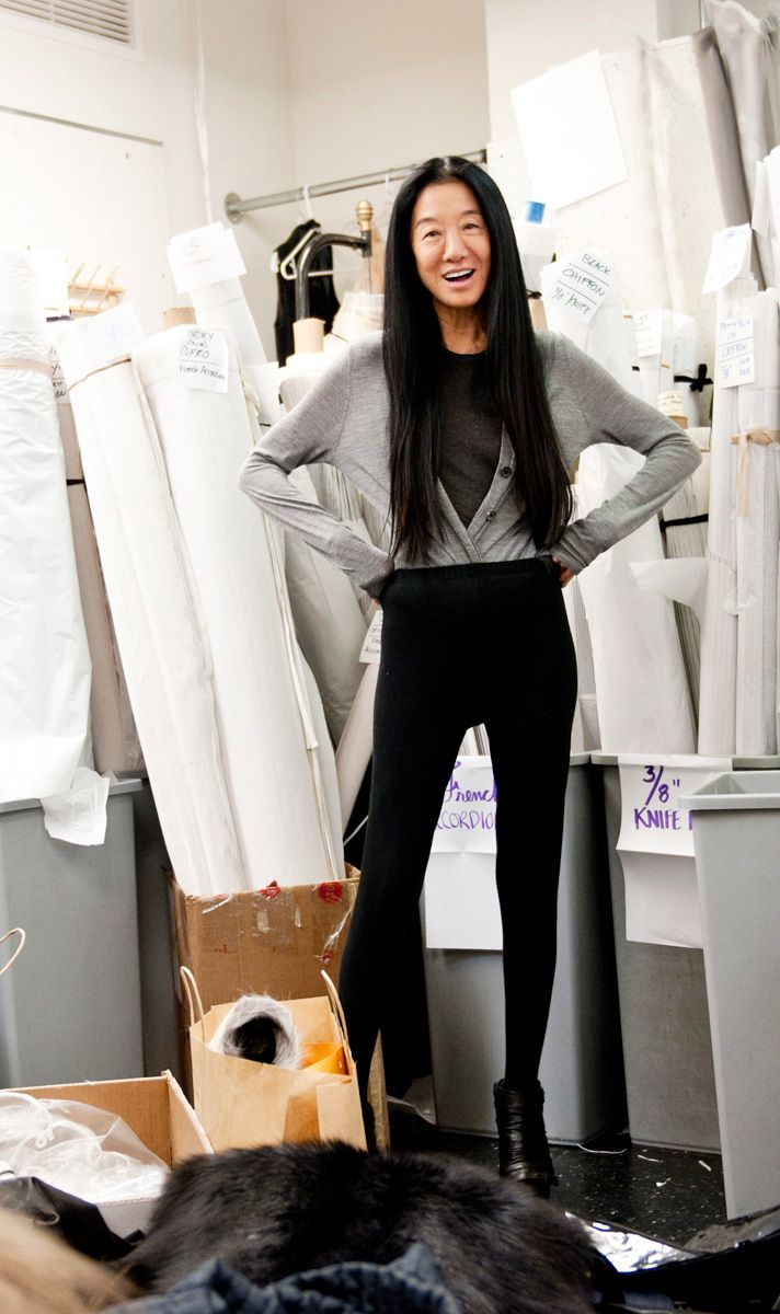 I want to have a collaboration with Vera Wang. Two minds make great ideas.