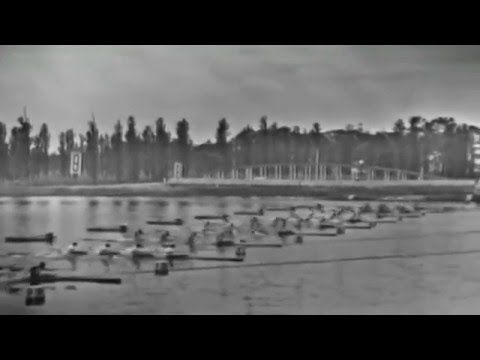 1968 Mexico Olympic, Canoeing, Men's K-2 1000 m final. (16:9) - YouTube