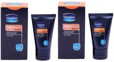 Vaseline Men Anti Spots Whitening Face Cream Oil Control Pack of 2 100 g