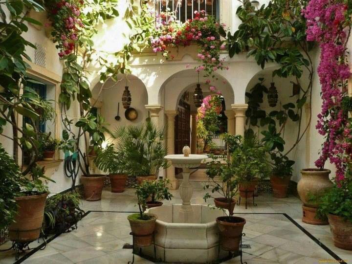 M s de 1000 ideas sobre jardines bonitos en pinterest - Cortijos andaluces encanto ...