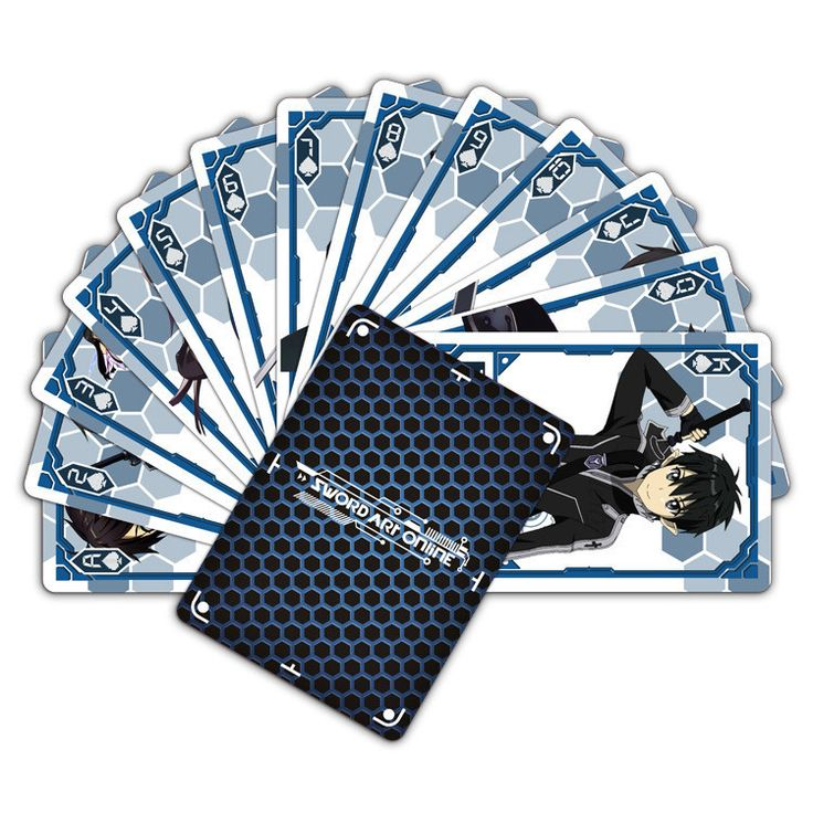 Sword Art Online SAO Collectible Poker Cards - OtakuForest.com