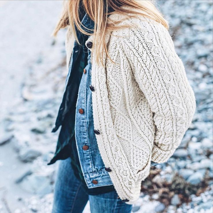 fishermans sweater + layers