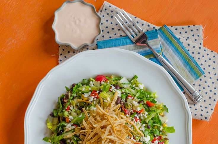 Santa Fe Salad with Spicy Dressing from Chef Sarah Elizabeth