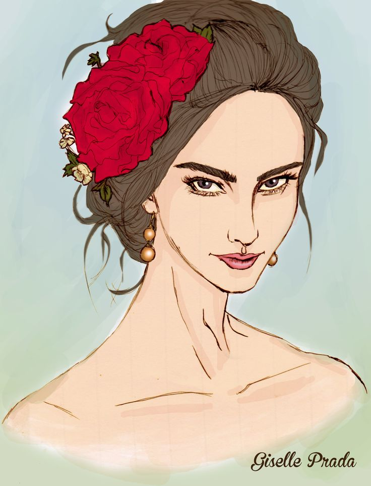 Maria Filo inspiration illustration hand drawing