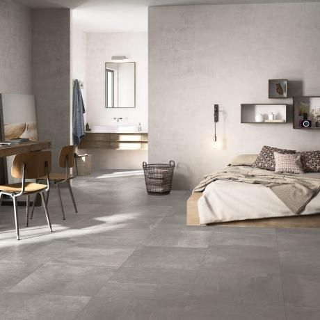 modern grey tile floor. Downtown Light Grey Porcelain Tiles  This beautiful large format tile creates a subtle 28 best images on Pinterest To create Beautiful and