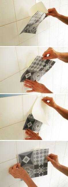 Faux Carrelage U0026 Vrai Test : Notre Avis Sur La Crédence Adhésive Smart Tiles