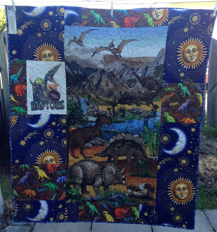 Dinosaurs  for Cadey Christmas 2016 one side, own design
