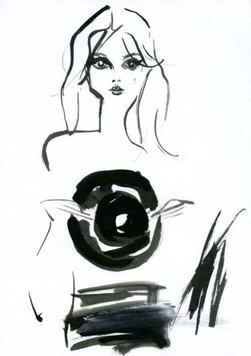 """""""Clémence Poésy"""" フランス女優のクレマンス・ポエジー。Chloeの香水のモデルを務めたり、プライベートファッションの注目度も高い、オシャレな女優さんです。『Jalouse』9月号のカバーも可愛い!"""