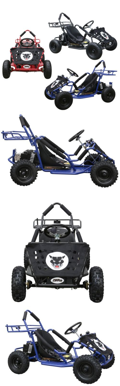 Complete Go-Karts and Frames 64656: 1000W Go Cart Kart Electric Dune Buggy Kid Ride On Car Off Road One Seat Outdoor -> BUY IT NOW ONLY: $749.99 on eBay!