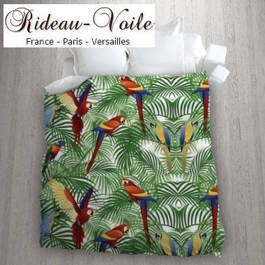 Epingle Sur Tissu Exotique Tropical Decoration Exotic Ameublement Tapestry Tapisserie Upholstery