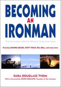 A collection of personal stories about the experience of competing in one's first Ironman triathlon. This is the ultimate test of endurance: a 2.4-mile swim, a 112-mile bike ride, and a 26.2-mile run, all raced end-to-end in one grueling day—and these stories tell it straight: what to expect, how to prepare, what was rewarding, what was miserable. These stories come from men and women of all ages and abilities. Read more!