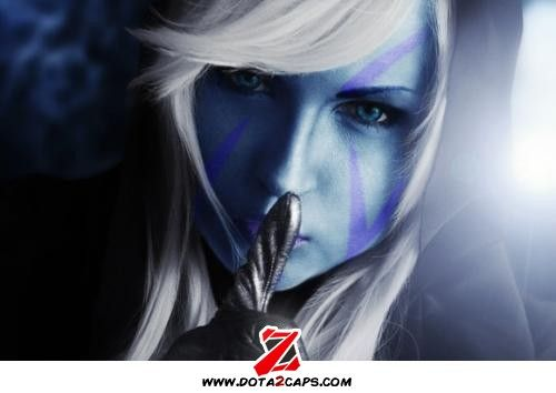 Profile Drow Ranger Cosplay