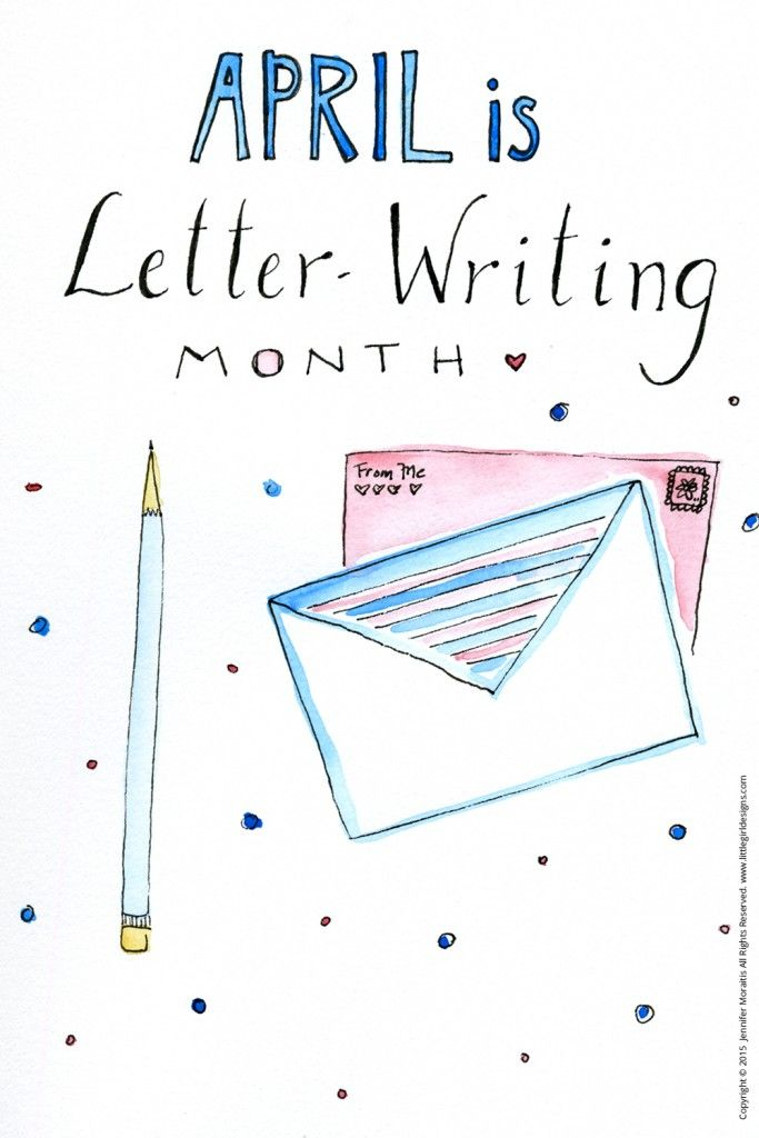 April is Letter-writing Month - Prompts, printables, and inspiration for all of your snail mail needs @littlegirldesigns.com