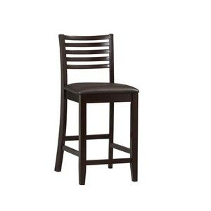 Triena Collection 24 in. Ladder Counter Stool