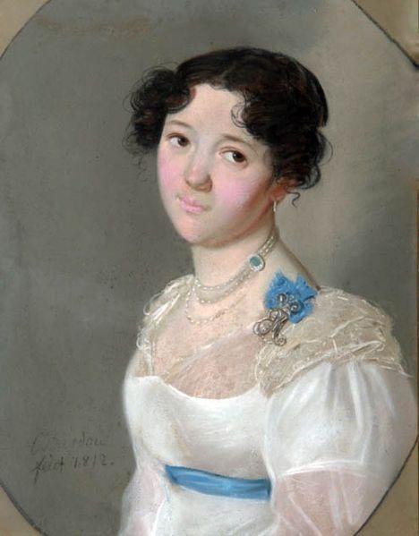 Кн. Аграфена Юрьевна Оболенская (1789-1829), ур. Нелидинская-Мелецкая(1812)
