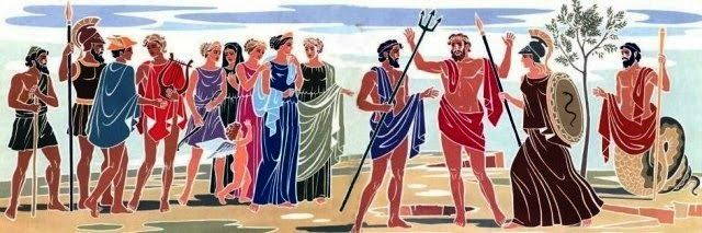 Δραστηριότητες, παιδαγωγικό και εποπτικό υλικό για το Νηπιαγωγείο: Θεά Αθηνά και θεός Ποσειδώνας: η διαμάχη για την ο...