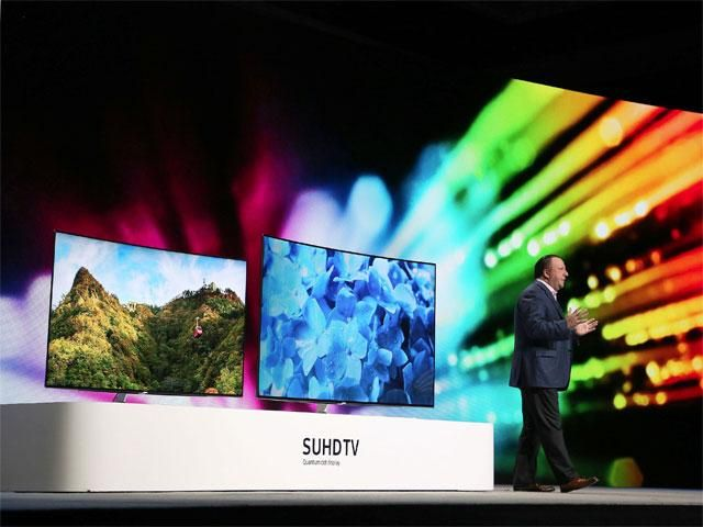 Slideshow : Samsung SUHD TV Quantum Dot Display television - CES 2016: Samsung unveils amazing products - The Economic Times