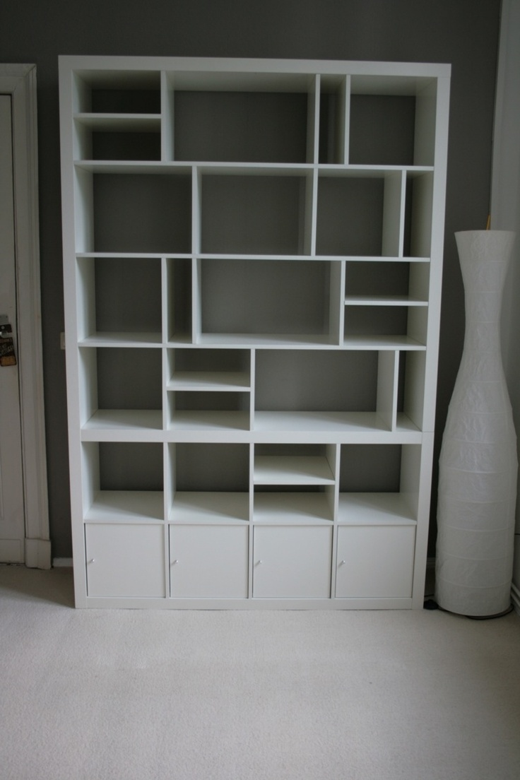 ikea hack expedit bookcase hallway ideas pinterest