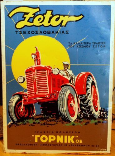 Vintage-Advertising-Tin-Sign-ZETOR-tractor