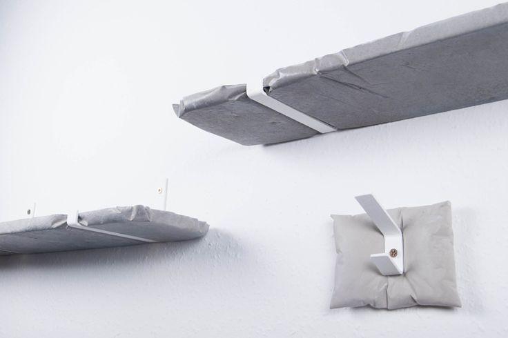 Concrete large design shelf, Contretediction - by .ab concrete