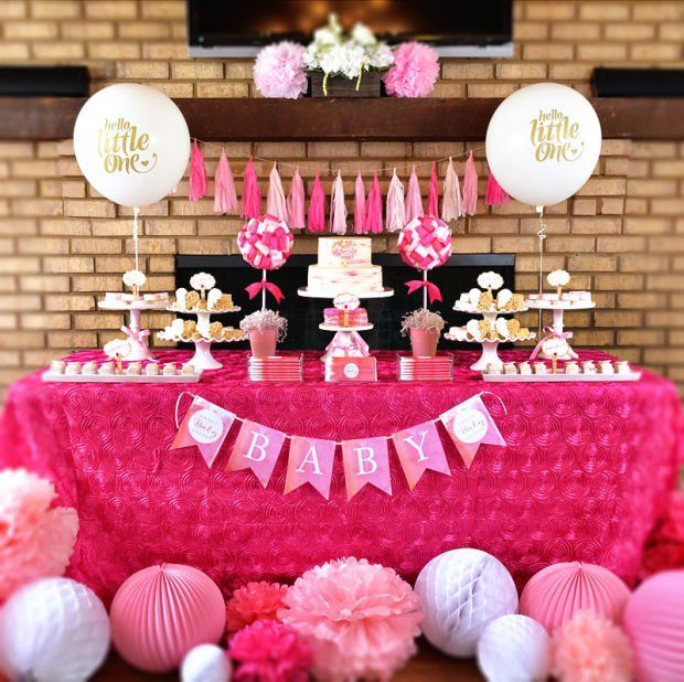 ideas about pink baby showers on pinterest baby showers baby shower