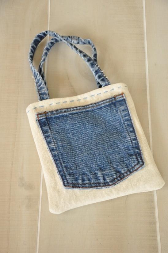 Jean Lined Bag Tutorial | Kollabora