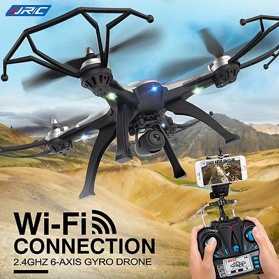 ﹩88.34. JJRC H25W WIFI FPV W/ HD Camera 6-Axis 2.4G Headless RC Quadcopter RTF Drone    Fuel Type - Electric, Required Assembly - Ready to Go/RTR/RTF (All included), UPC - 698313942515