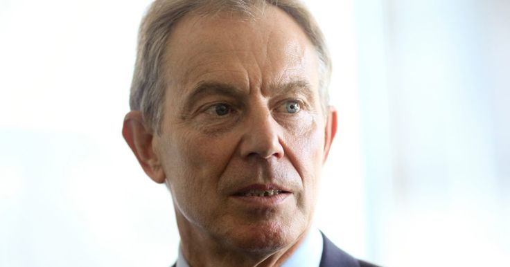 Tony Blair is a war criminal.  The phoney war on Iraq.... and then ISIS terror.