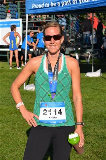Why I run! Read this inspirational story by Krista. (you may need tissues!)