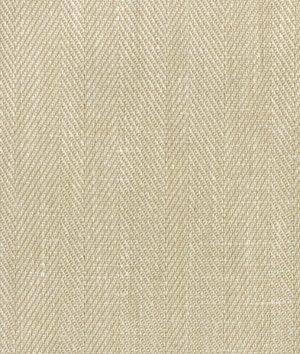 Natural Belgian Linen Herringbone Fabric | onlinefabricstore.net